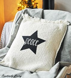 Silhouette Hoilday Pillow Project …the first of the Christmas Pillows!