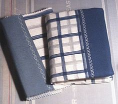 Buchhüllen mit Stickereikante
