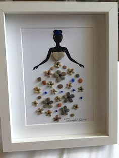 Dress pebble art