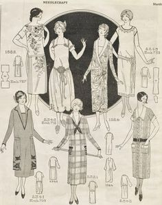 The Closet Historian: The One Hour 1920's Dress. The one hour dress originated in 1924, after our 1921 game time.