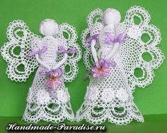 Схемы ажурных ангелов крючком - Handmade-Paradise