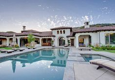 Britney Spears' Hacienda-style mansion in Thousand Oaks, Calif