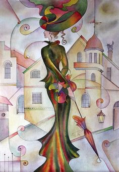 Russian painter Irina Chebotarev (1962, Kaliningrad) graduated from the Kaliningrad Art School, a participant of numerous exhibitions in Kaliningrad and St. Petersburg, and was exhibited in Sweden. Artist fine art thinking and precise characteristics