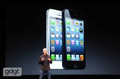 iPhone5 annuoncement