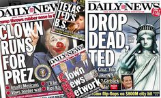 See the New York Daily News' most viral front pages about the 2016 presidential election!