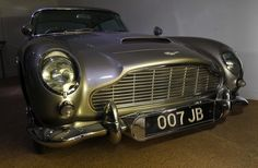 "Aston Martin DB5 from the movie ""Goldfinger"""