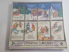 Lot of 8 CHRISTMAS Cassettes Jingle Bells-Deck The Halls-Silent Night Smoky Mtn. #Christmas Paid $1.00
