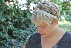 How-To: Sparkly Star Headband for Fourth of July
