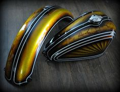 Chemical Candy Customs: Fresh Paint For Mike's Turbo Pan...Tiger ...