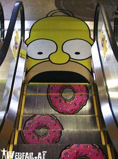 Homer wants donuts