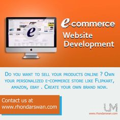 Do you want to sell your products online? Own your personalized e.commerce store like flipkart, amazon, ebay? Create your own brand now. Contact us at www.rhondarswan.com #BeUnstoppable #mediaandthecity #brandit #UnstoppableMomma #Entrepreneur #PersonalBranding #SocialMediaStrategist #HowToPersonallyBrandYou #HowToBecomeAnAuthorityInYourNiche #OnlineMarketingStrategiesForNewbies #PersonalBrandingStrategy