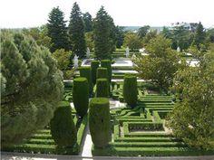 un mundo con historia: jardines de sabatini