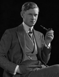 Evelyn Waugh, author of such popular works as Brideshead Revisitedand Vile Bodies, engaged in homosexual relationships while at Oxford, married a woman named Evelyn, divorced her and married her cousin, and his writings are often satirical and filled with black humor. And how could you not love a man who has a homosexual character named Aloysius who carries around a teddy bear?