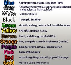 Colours And Their Moods mood necklace colors & meanings | education-writing | pinterest