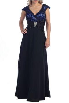 Long Plus Size Formal Dress Plus Size Gown