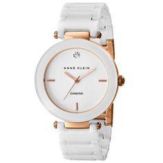 Reloj Anne Klein de Cerámica blanca AK/1018RGWT  | $360,000.00