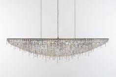 Iceberg crystal chandelier #Manooi #Chandelier #CrystalChandelier #Design #Lighting #Iceberg