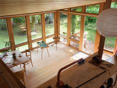 Historiska hem This Old House, Tiny House, Compact Living, Scandinavian Interior, Prefab, Small Apartments, Old Houses, Villa, Deck