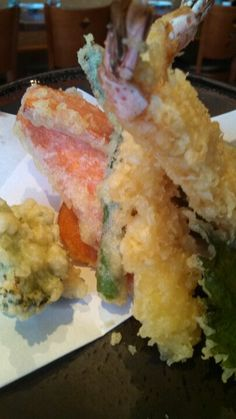Shrimp tempura veggie tempura