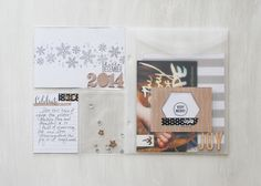 Project Life by Stampin' Up! Hello December collection by Jamie Pate.  Perfect for documenting your holidays.