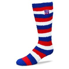 Women's New York Giants Pro Stripe Sleep Soft Tube Socks