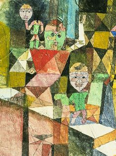 Paul Klee, Présentation du miracle  http://casaprints.com/fr/51-reproductions-de-tableaux-de-paul-klee