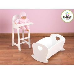 baby toy high chair set cosco retro with step stool 10 best doll crib images cribs toys beds amazon com my very own games