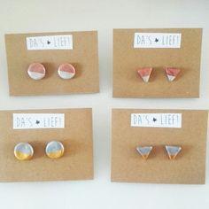 Handmade earrings - Da's Lief!