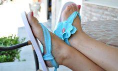 DIY CRAFT PROJECTS: Key West Flip Flop