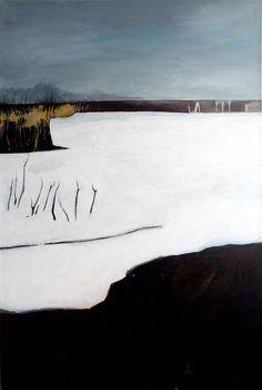 Andreas Bahn / Minus / 2001 / Acrylic on canvas