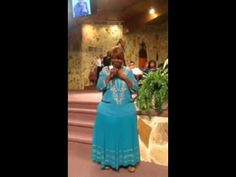 Shun Pace singing at her Uncle Gene Martin Memorial Service - YouTube