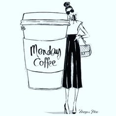 It's Monday morning coffee y'all 💁🏻 Y'all have a great week ☕️🌎🙏🏻😘