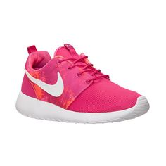 reputable site 1004b 9636b Women s Nike Roshe One Print Casual Shoes ( 55) ❤ liked on Polyvore  featuring shoes