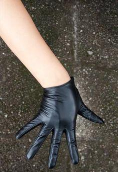 Womens sexy gloves, girl handjob facial