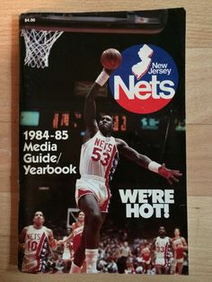 New Jersey Nets Vintage Basketball Yearbooks 8bc702a3f