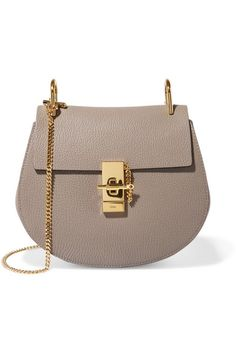 4b80c4484b Gray leather (Lamb) Pin and clasp-fastening front flap Designer color: Motty