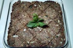 Receita (deliciosa) do verdadeiro kibe assado árabe