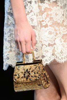 floraspice: detail at Dolce & Gabbana...