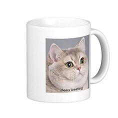 Funny Stoneware Mug Meme Portable Coffee Mug >>> Awesome cat product. Click the image : Cat mug