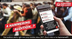 Receive Audition SMS Alert - JoinFilms