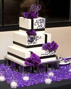 Make my cake purple