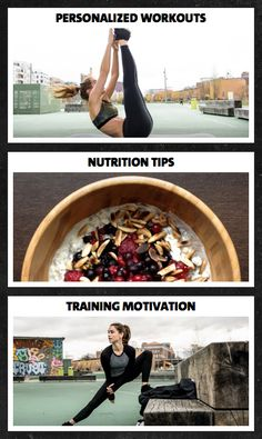 Get in the best shape of your life! Test our personalized workout plans 4 weeks…