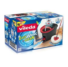 BARGAIN #Vileda Easy Wring and Clean Microfibre Mop and Bucket NOW £15 At Amazon - Gratisfaction UK Bargains