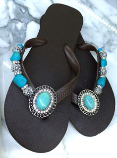 Tantalizing Turquoise ~ Bohemian Glam Collection Flipinista® 312-399-2468