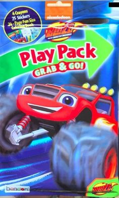 Nickelodeon Blaze and The Monster Machines Grab & Go Play Pack New/Sealed!!  #Nickelodeon