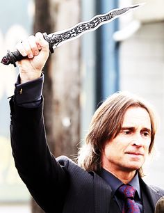 Mr. Gold, the Dark One - He better not be dead, I'm gonna be so pissed if he doesn't return.  He's my most favorite character.