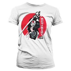 Officially Licensed Merchandise Suicide Squad Katana Girly Tee (White), X-Large #regalo #arte #geek #camiseta