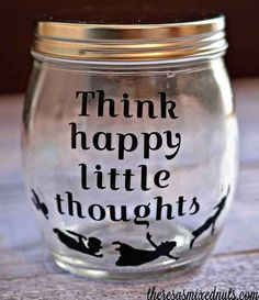 A jar with thoughts to help you fly.