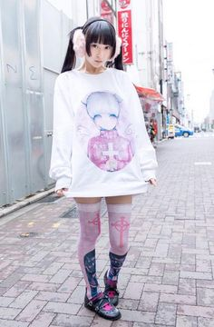 Harajuku/pastel goodness/colorful goodness inspired OOTD.  My style and Inspo.