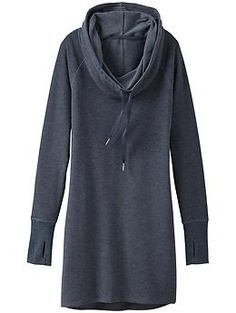 Intention Cover Up - Awesomely soft Terryific in a coverup-meets-dress with a convertible collar that can be worn up as a hood.